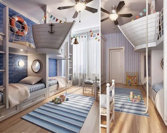 habitaciones creativas para niños 18